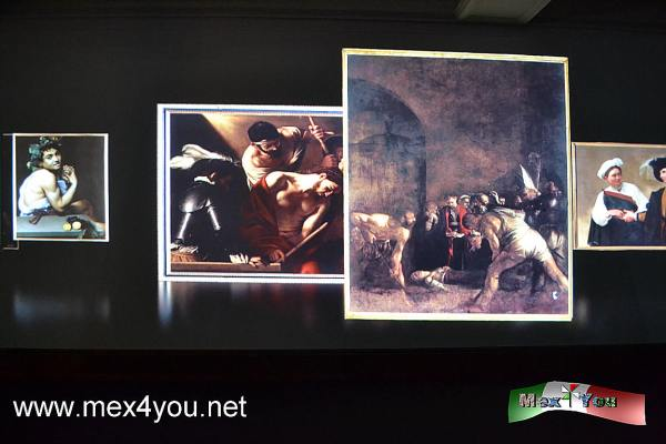 Caravaggio arrives at the National Museum of Art